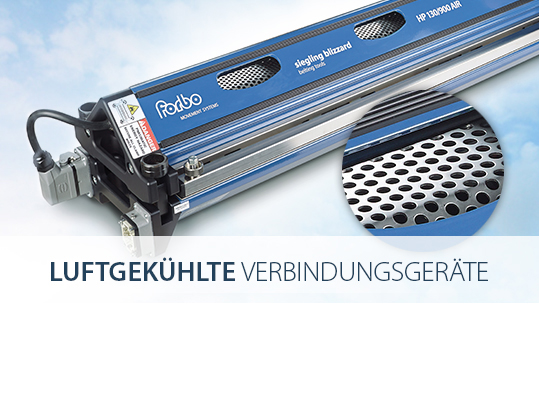 Luftgekühlte Verbindungsgeräte