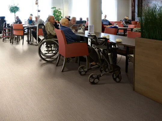 Dementia friendly flooring - accredited design