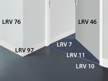 LRV rule for dementia flooring