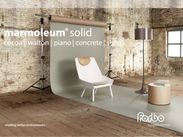 digital magazine Marmoleum Solid