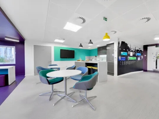 RICS Edinburgh Kitchen Area