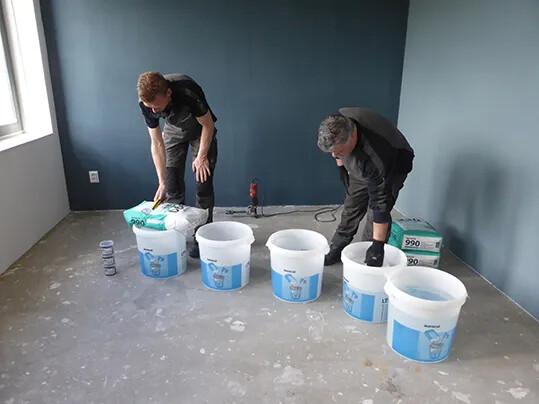 FloorColouring_Installation_Vorbereitung