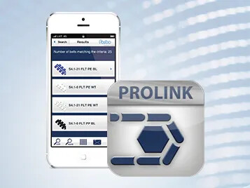 Prolink Beltfinder app suggests right modular belt