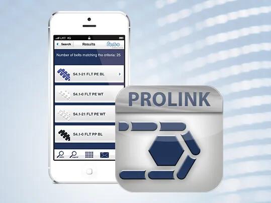 Prolink Beltfinder app suggests right modular belt