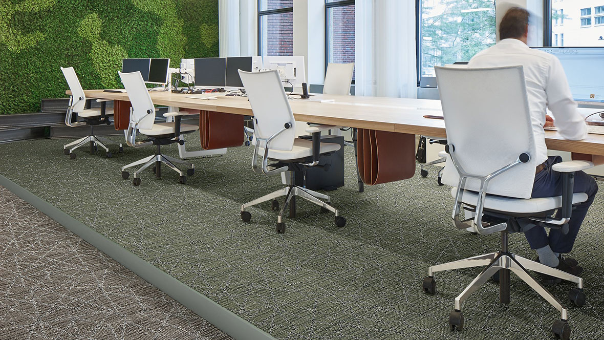 Tessera Nexus carpet tiles - commercial office flooring design