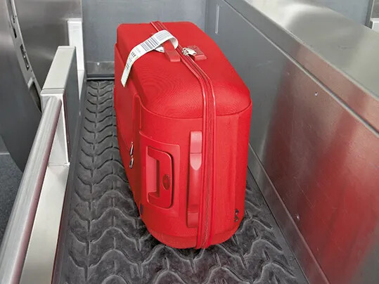 旅行鞄搬送