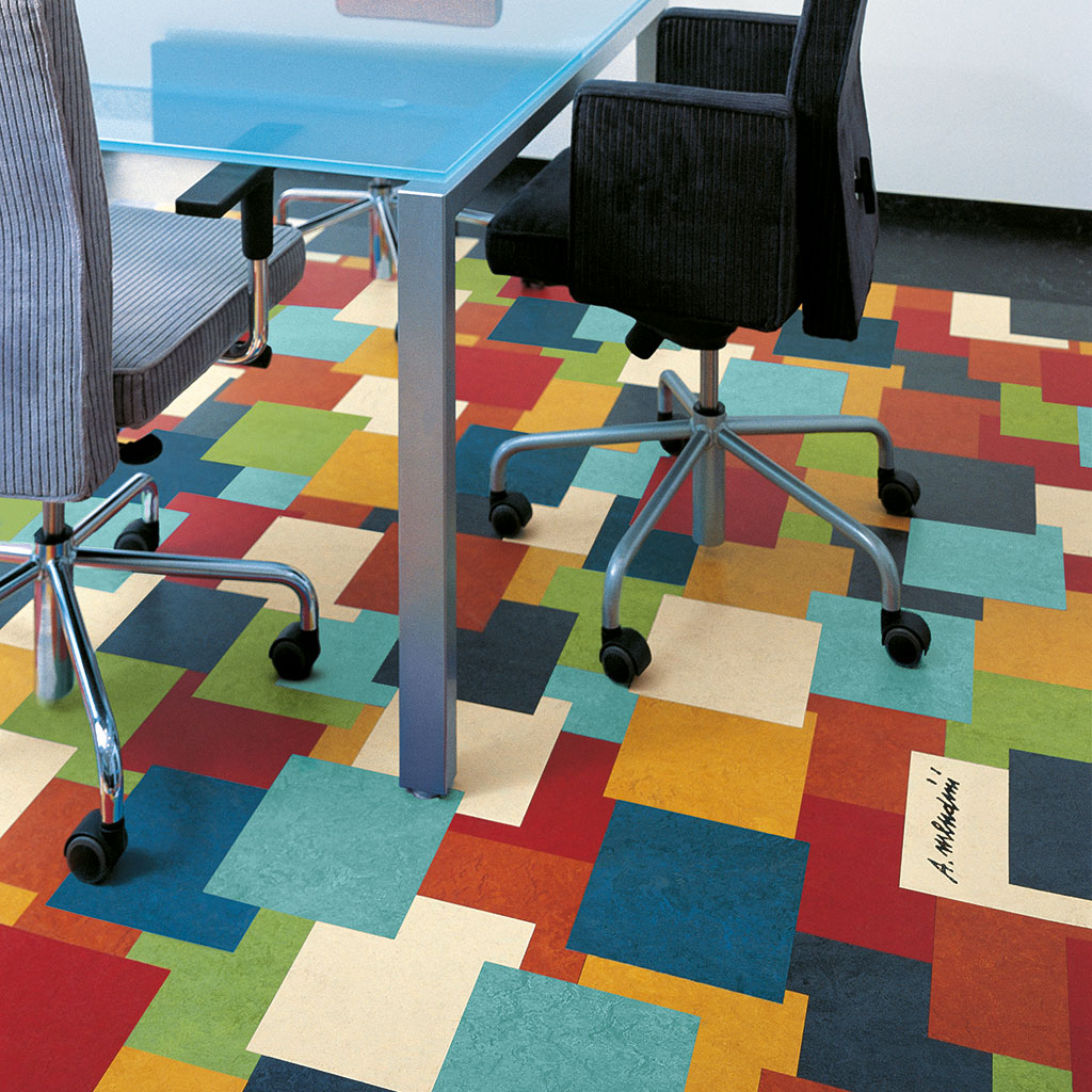 Marmoleum Meets Mendini Forbo Flooring Systems
