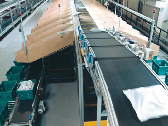 Bänder für Distributionszentren