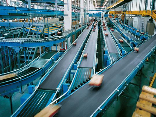 Distribution Center Belts