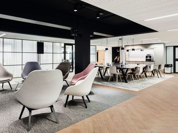 Tessera carpet tiles & Allura LVT - Commercial Office Fit Out