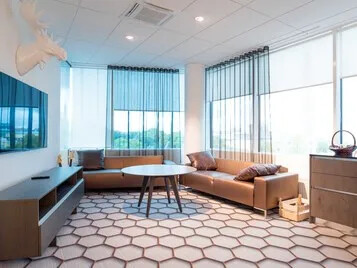 Bespoke flooring for commercial office design