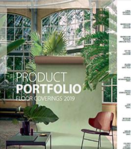 Product Portfolio 2019 cover