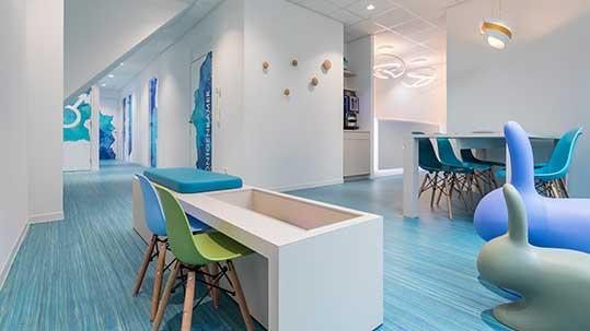Yavuz Tandheelkundig Centrum, Interior-Design: Partout Design