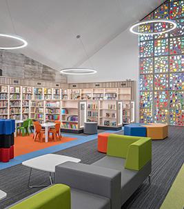 Athy Bibliothek, Tessera