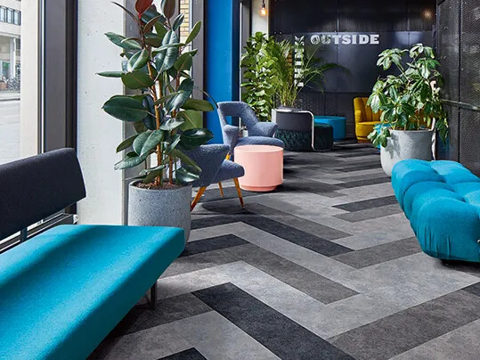 forbo Flotex Colour in plank format