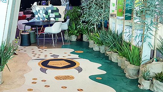 A4LEA 2019 conference floor design custom