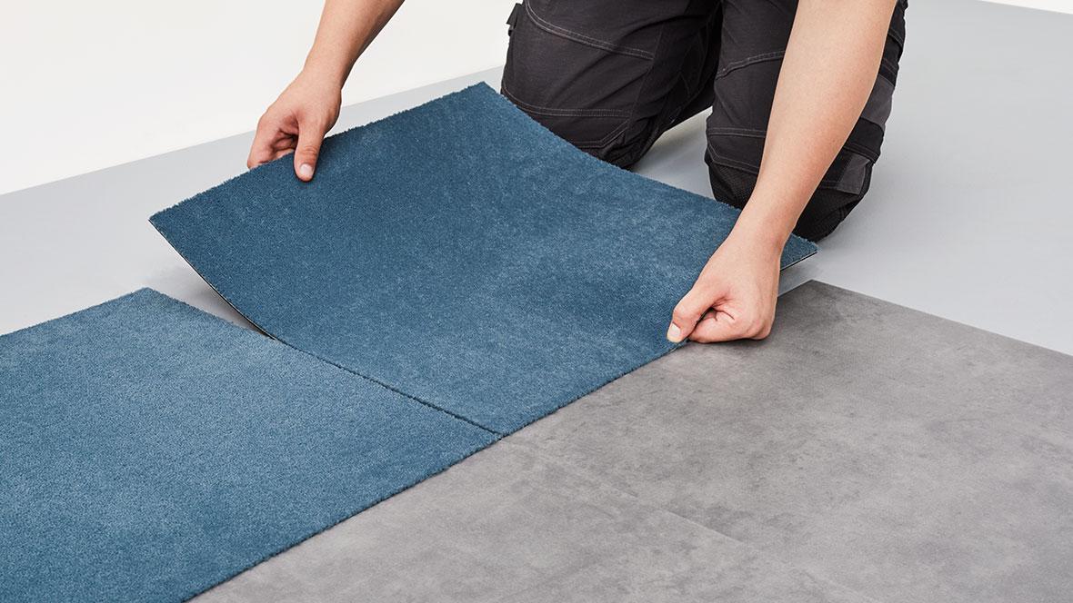 Textile Bodenbeläge_Verlegung