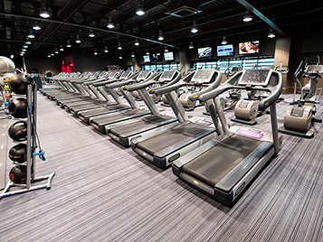 gym flooring - flotex