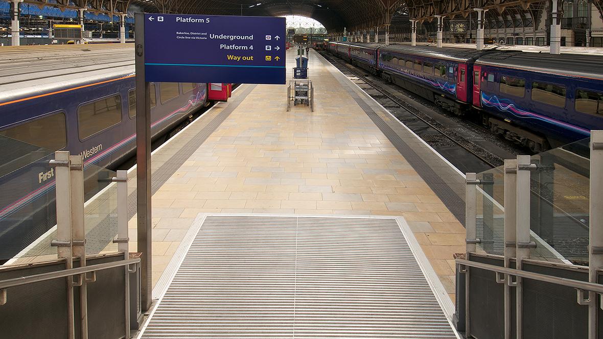 Network Rail Paddington Station