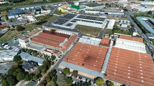 Revêtement de sol souple professionnel, usine de REIMS | Forbo Flooring Systems