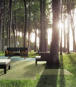 Tessera forest green