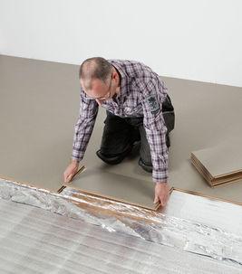 Installing linoleum Marmoleum