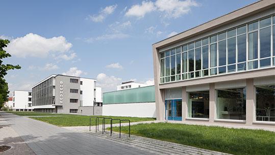 Bauhaus Bibliothek, Bild: Werner Huthmacher