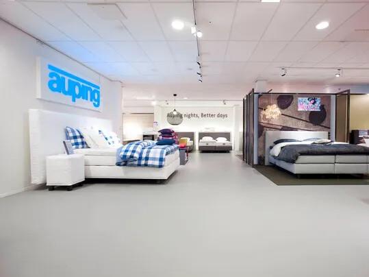 Revêtement de sol naturel linoléum commerces et boutiques   Forbo Flooring Systems