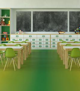 Revêtement de sol PVC et vinyle professionnel école, lycée et collège | Forbo Flooring Systems