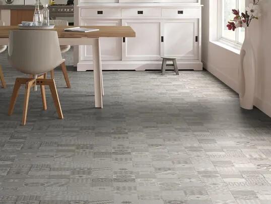 Revêtement de sol PVC imitant carreaux de ciment | Forbo Flooring Systems
