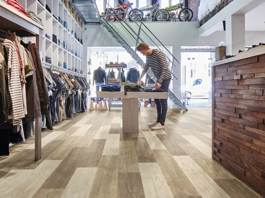 Commerces - revêtement de sol pour boutiques et magasins | Forbo Flooring Systems