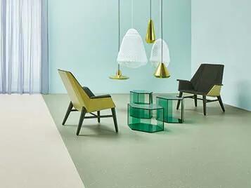 Sphera homogeneous vinyl flooring for retail and healthcare