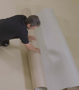 marmoleum net fit installation video cover