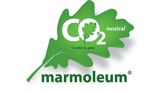 Marmoleum CO2 Neutral Logo