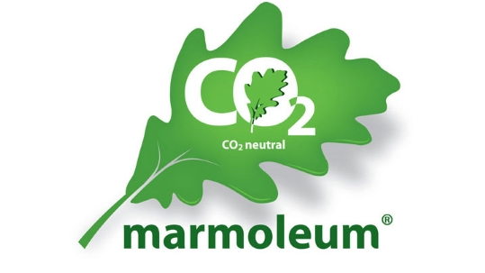 Marmoleum CO2 Neutral Logo