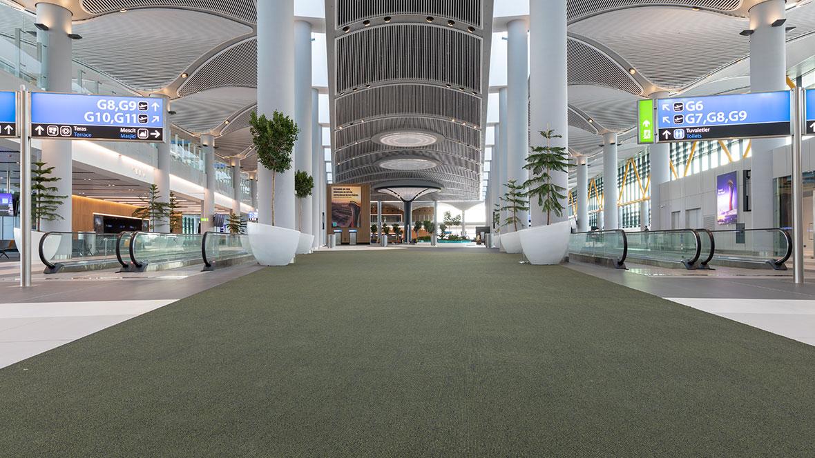 Airport flooring