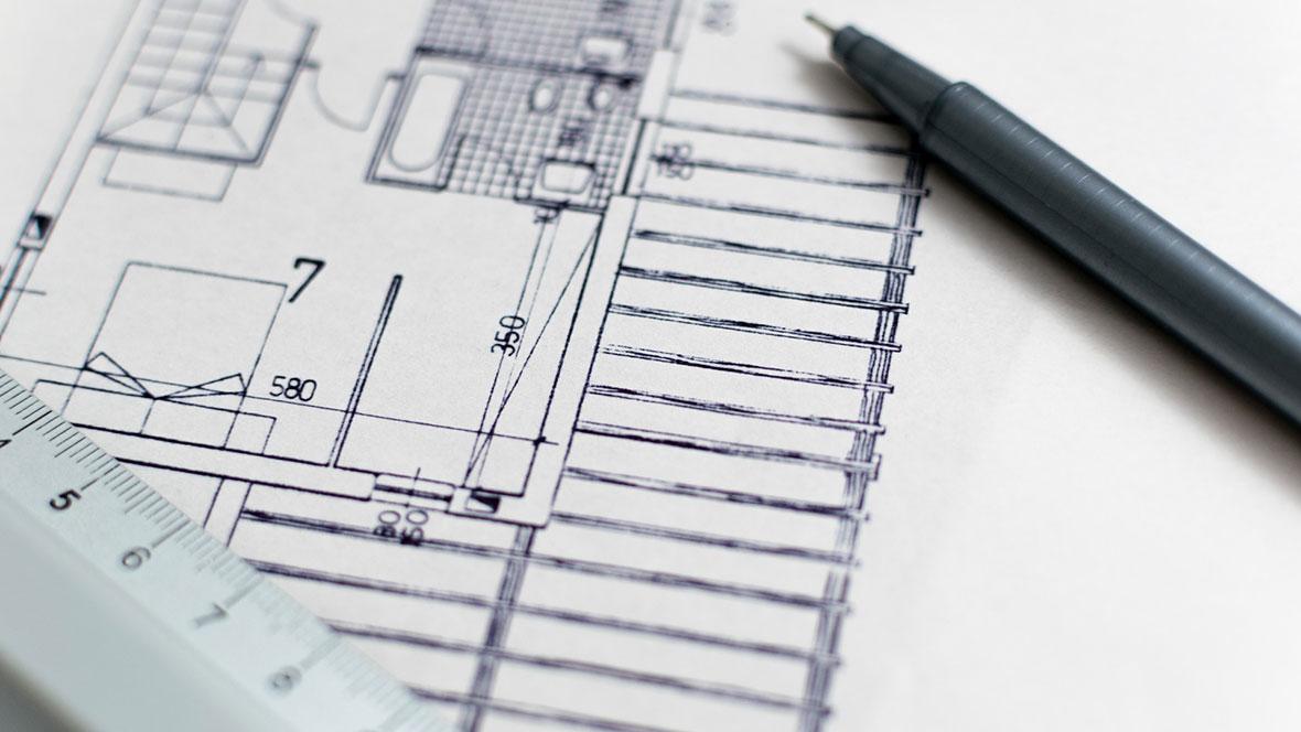 Planungsdaten - digital oder klassisch gezeichnet