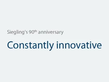 Siegling's 90th anniversary – Constantly innovative