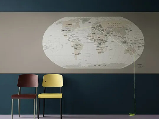 Bulletin Board 2182 Worldmap