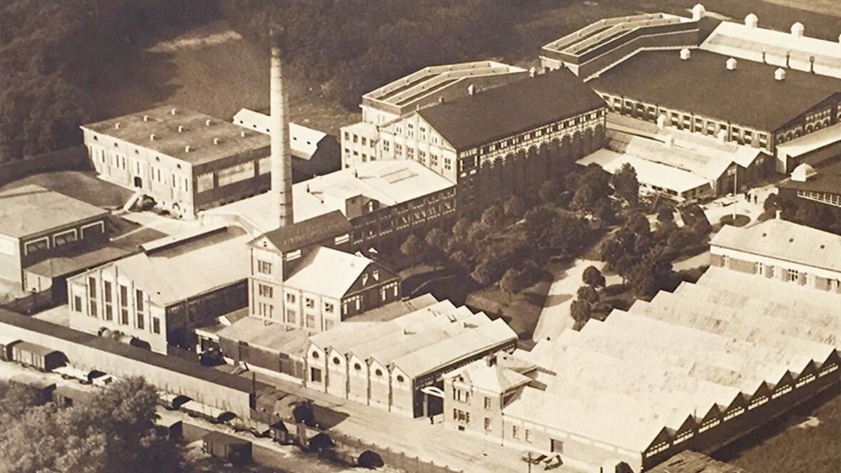 Gamle fabrik i Forshaga