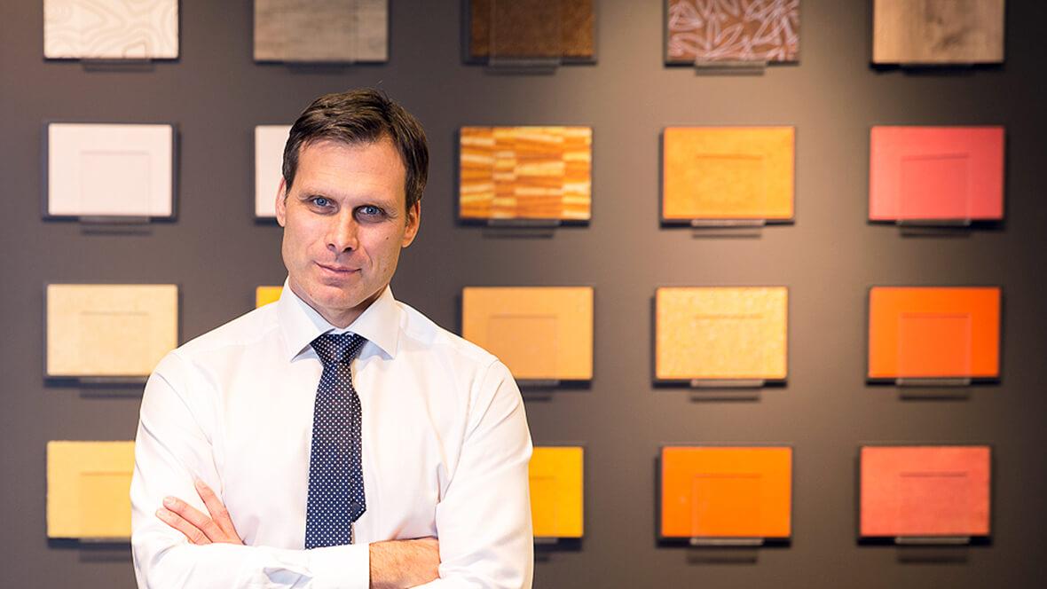 Harald Burgstaller, VD Forbo Flooring Systems