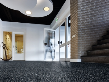 Coral entrance matting/flooring
