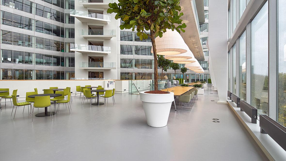 The Edge – Deloitte office, Amsterdam, Photo: Ronald Tilleman