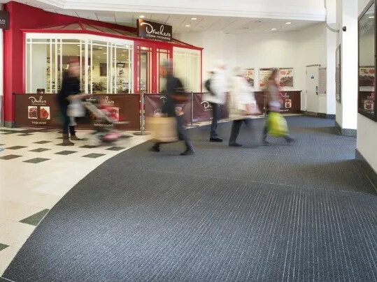 Castle Key Shopping Centre Nuway - Forbo Flooring Entrance Matting