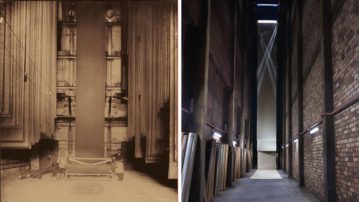 Trockenkammer gestern und heute