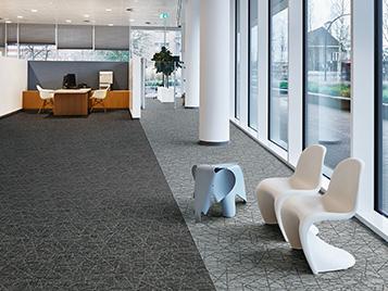 Büros und öffentliche Gebäude:: Forbo Teppichfliesen