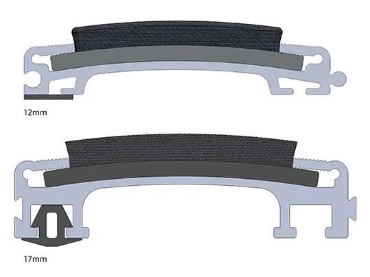 Tapis de propreté rigide Nuway grid - deux versions   Forbo Flooring Systems