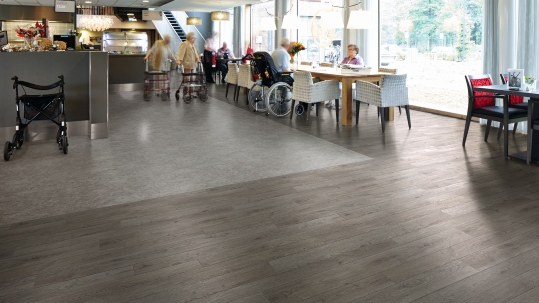 Forbo Eternal in Care Home dining room