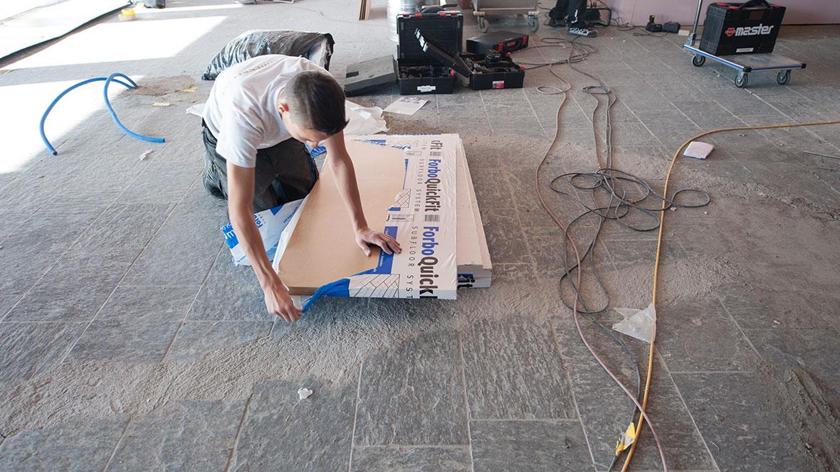 White Marmot - Vorbereitung Verlegung - Foto: Birgit Groh
