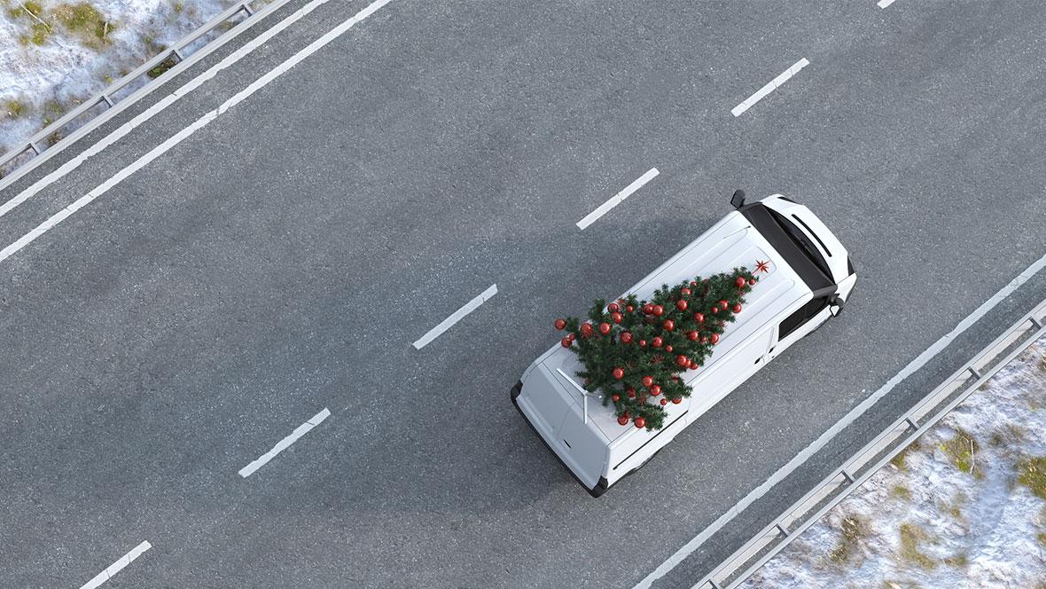 Logistik - Weihnachtsbaum - © Robert Kneschke